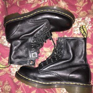 Beautiful Black Doc Martens size 8